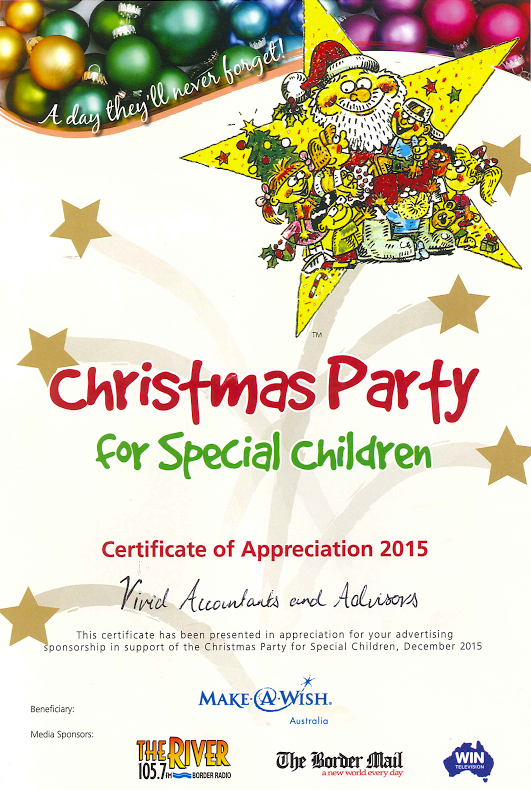 Christmas Party For Special Children